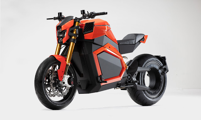 The Verge Chainless Motorcycle