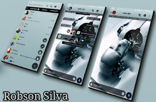 Robot Theme For GBWhatsApp By Robson
