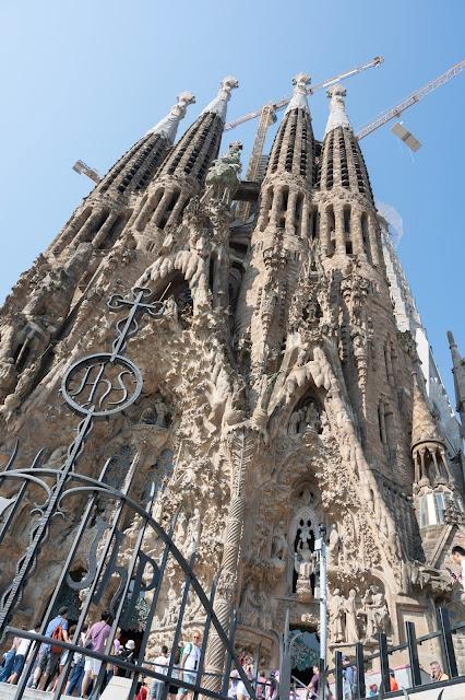 Gaudi's Sagrada Familia church in Barcelona