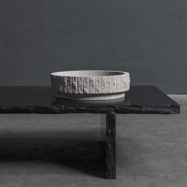 Stone centrepiece