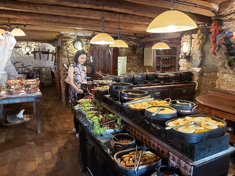 melhor restaurante de comida mineira em Ouro Preto - MG