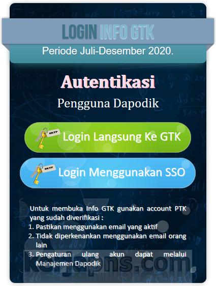 Cara Masuk Info Gtk : masuk, Login, Menggunakan