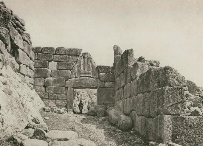 Φωτογραφικό Ταξίδι στο παρελθόν : Μυκήνες Τίρυνθα .