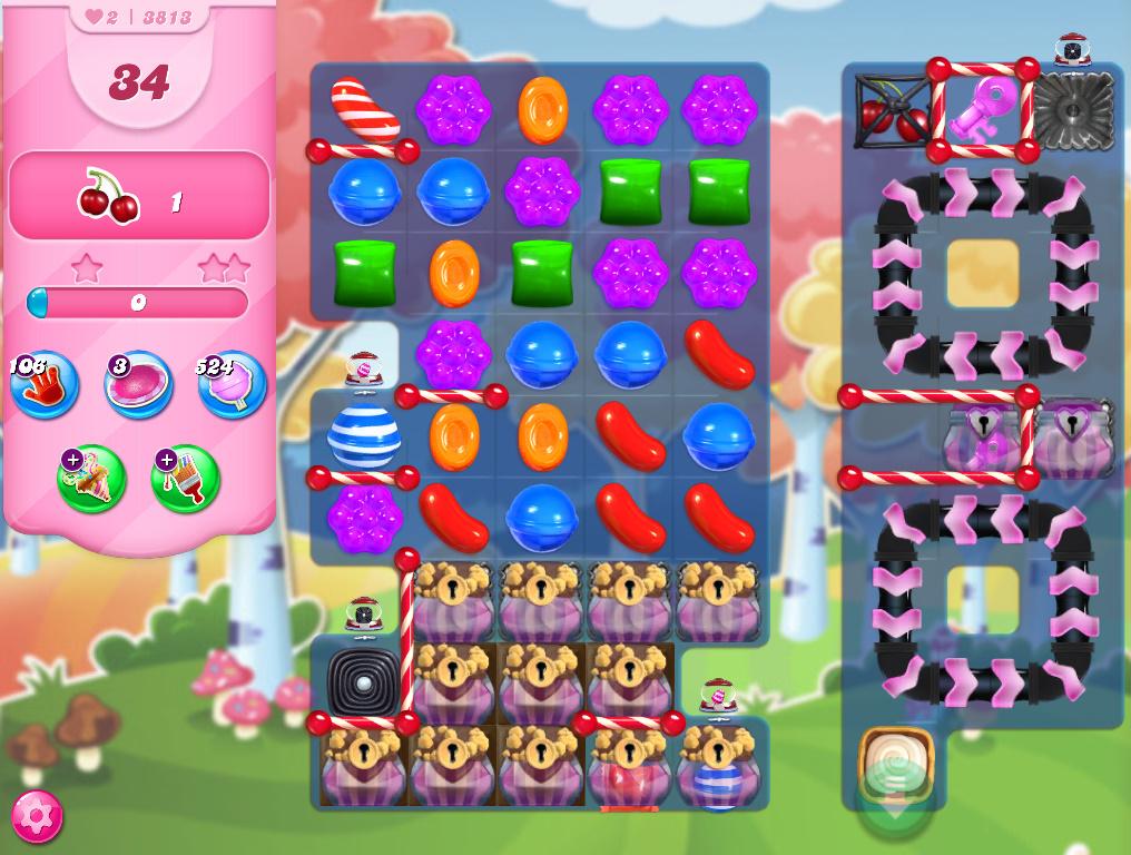 Candy Crush Saga level 3813