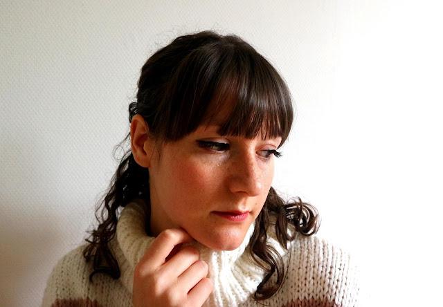 Je porte les faux-cils de la marque Magnetic by SL, avec leur eyeliner.