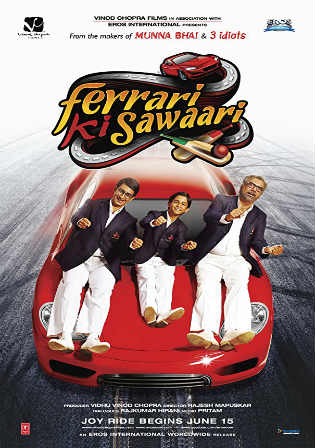 Ferrari Ki Sawaari 2012 BRRip 400MB Hindi 480p Watch Online Full Movie Download bolly4u