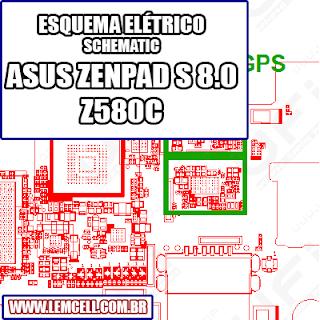 Esquema Elétrico Smartphone Celular ASUS ZenPad S 8.0 Z580C Manual de Serviço   Service Manual schematic Diagram Cell Phone ASUS ZenPad S 8.0 Z580 C      Esquematico Smartphone Celular ASUS ZenPad S 8.0 Z580 C
