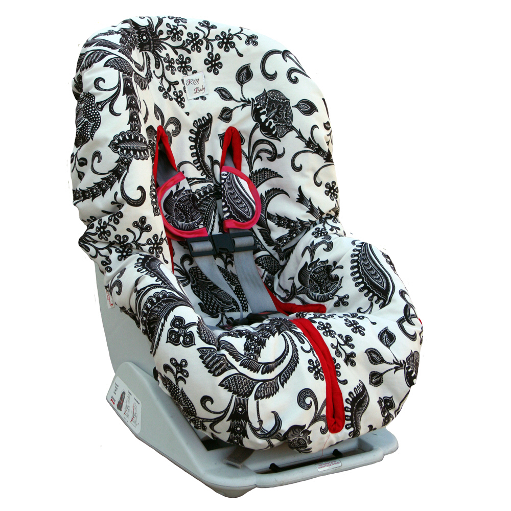 Flip Out Mama Infant Car Seat Covers Are Functional Fashionable