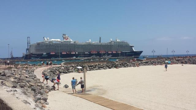 Periodico brtánico The Telegraph elabora guía sobre cruceros a Canarias desde el puerto de Southampton, incluyendo a Fuerteventura