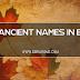 TOP ANCIENT NAMES IN EBIRA.
