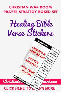 Healing Bible Verse Stickers