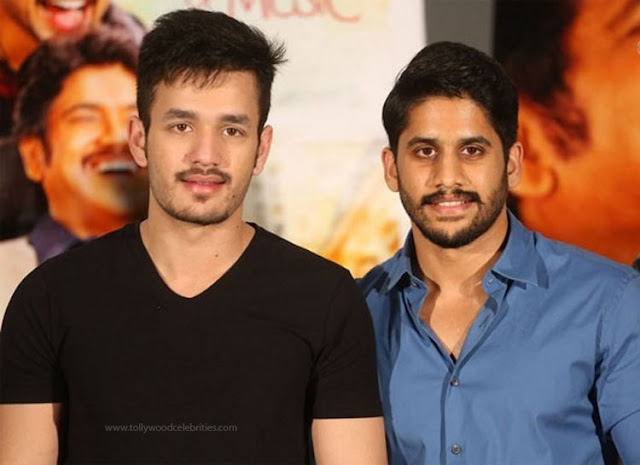 Akkineni Brothers In Vizag ?