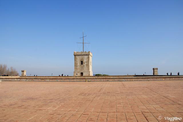 Terrazza sul Forte del Montjuic