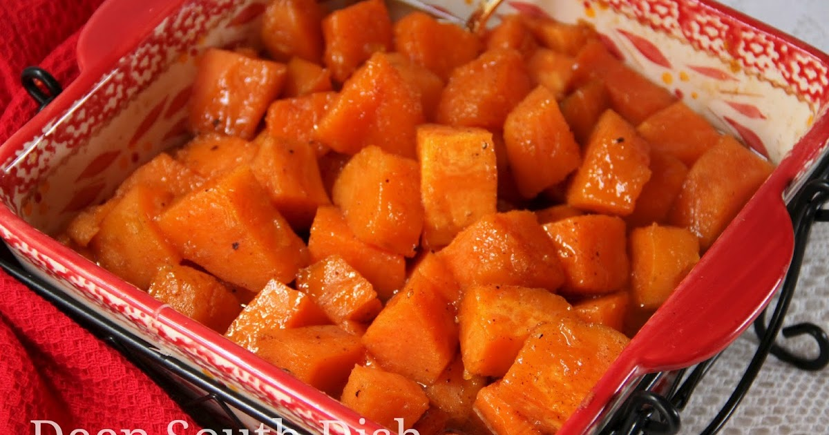 Deep South Dish: Southern Candied Yams (Sweet Potatoes