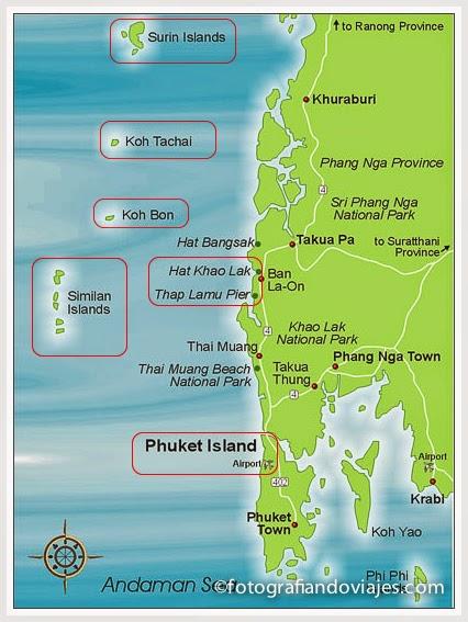 buceo en phuket y khao lak