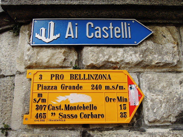 Andar per castelli a Bellinzona