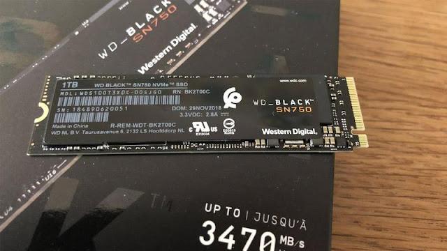6. WD Black SN750