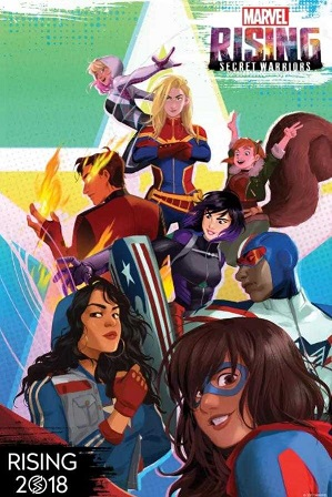 Marvel Rising Secret Warriors (2018) 850MB Full Hindi Dual Audio Movie Download 720p Web-DL thumbnail