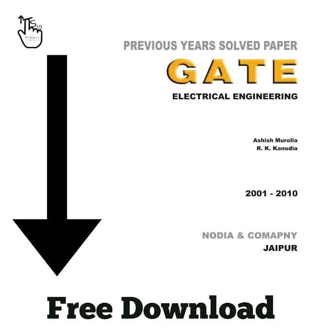 Free Download PDF Of GATE Electrical Engineering
