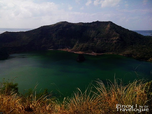 Taal volcano's main crater lake