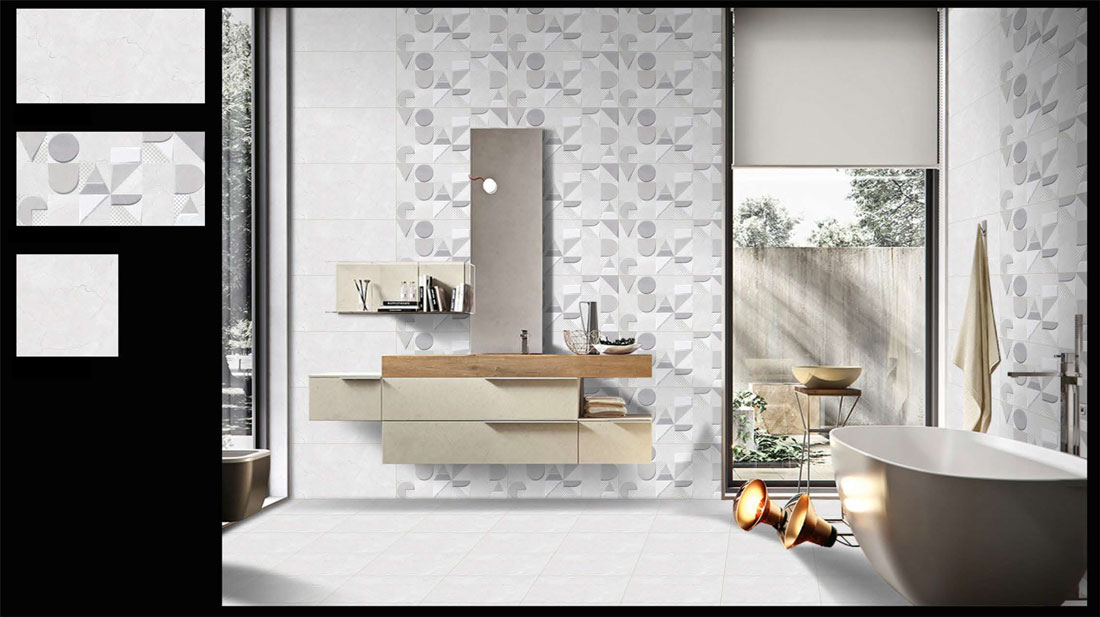 Light-gray-bathroom-floor-tile