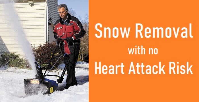 Stop Shoveling Snow or Die Because Heart Attack