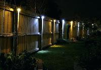 Luces solares para jardín