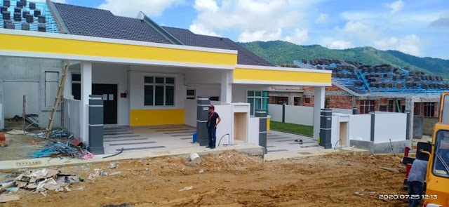 SALE / RM229K / NEW DEVELOPMENT TAMAN DESA PUTERI @ BAHAU (TYPE B)