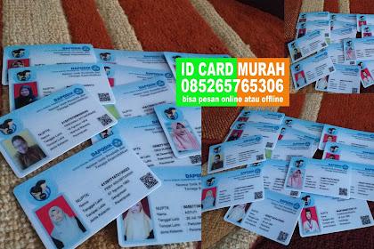 ID CARD MURAH PKU