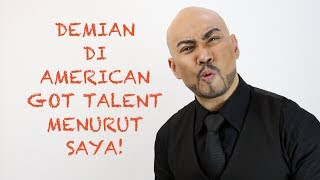 Video Demian Aditya American Got Talent Menurut Deddy Corbuzier