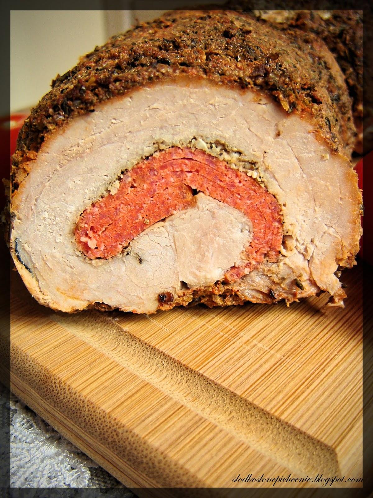 Rolada wieprzowa z salami