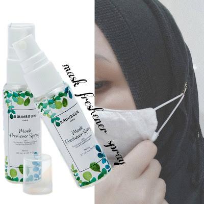 produk penyegar untuk masker, produk pencegahan covid 19, mask freshener spray, penyegar masker, mask freshener bau eucalyptus, spearmint, peppermint, segar sepanjang hari ketika menggunakan masker