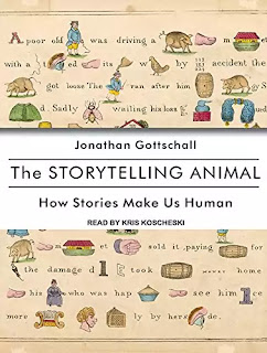 The storytelling animal Book About in Hindi