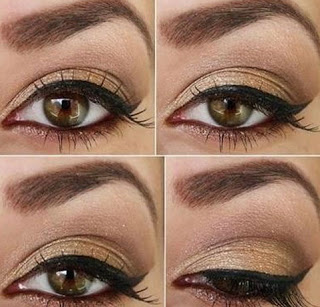 To highlight your brown eye makeup the best, utilize a caramel color