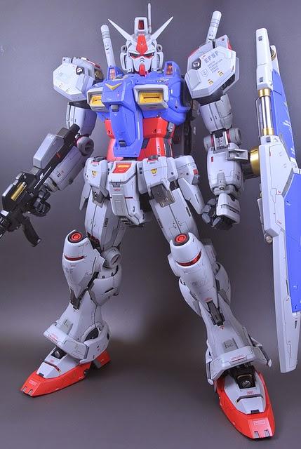 Custom Build: PG 1/60 RX-78GP01FB Gundam Gp01 Full Burnern