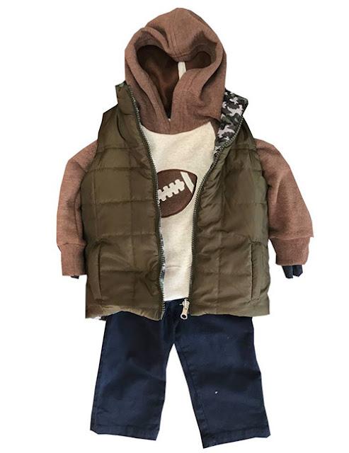 Moda invierno 2017 ropa para niños camperitas y chalecos.
