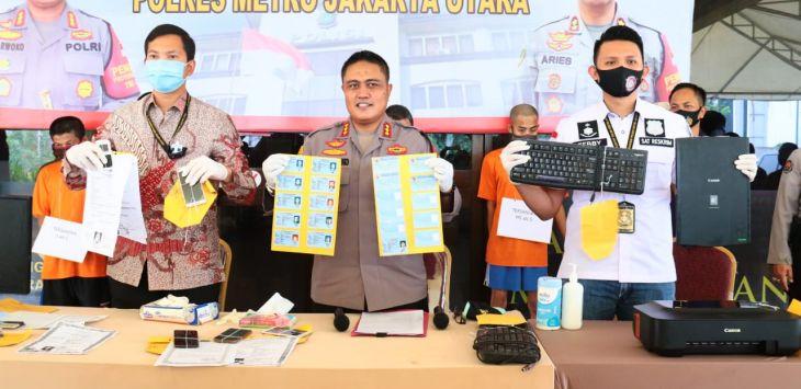 Polres Jakarta Utara Bongkar Sindikat Pemalsuan e-KTP, Seperti Ini Ternyata Modusnya