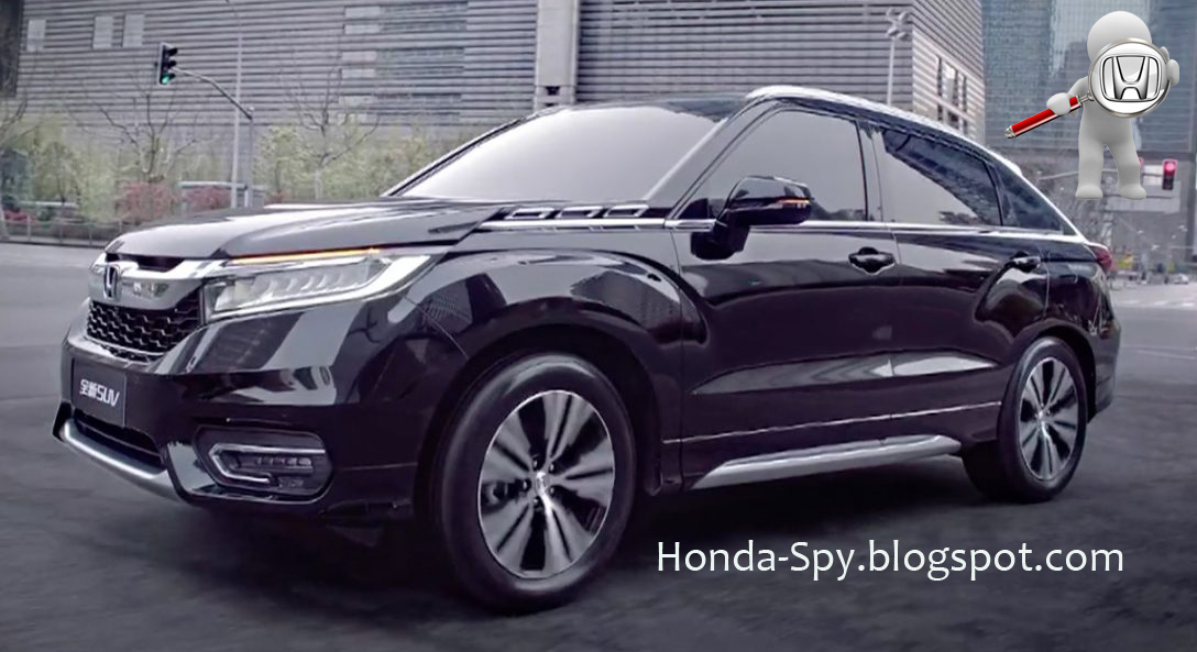 Looks Like The 2017 Honda Avancier Will Be A Hit For China In Luxury Suv Market