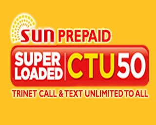 Sun CTU50 – 3 Days Unli Tri-net Calls, All-Net Texts + Free Facebook