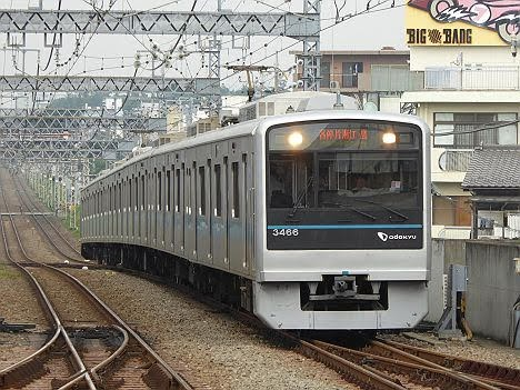 小田急電鉄 各停 片瀬江ノ島行き2 3000形