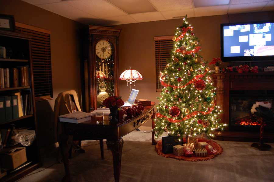 Xmas Home Decoration: Modern House: The Best Christmas Decorations Ideas For