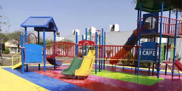 Municipio de Querétaro rehabilitó el Parque en Misión Carrillo