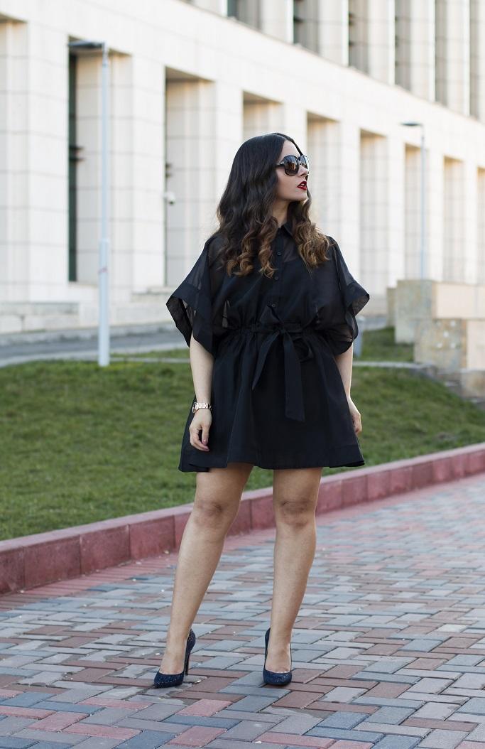 adina nanes femme luxe black dress