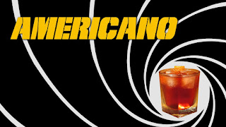 americano cocktail james bond