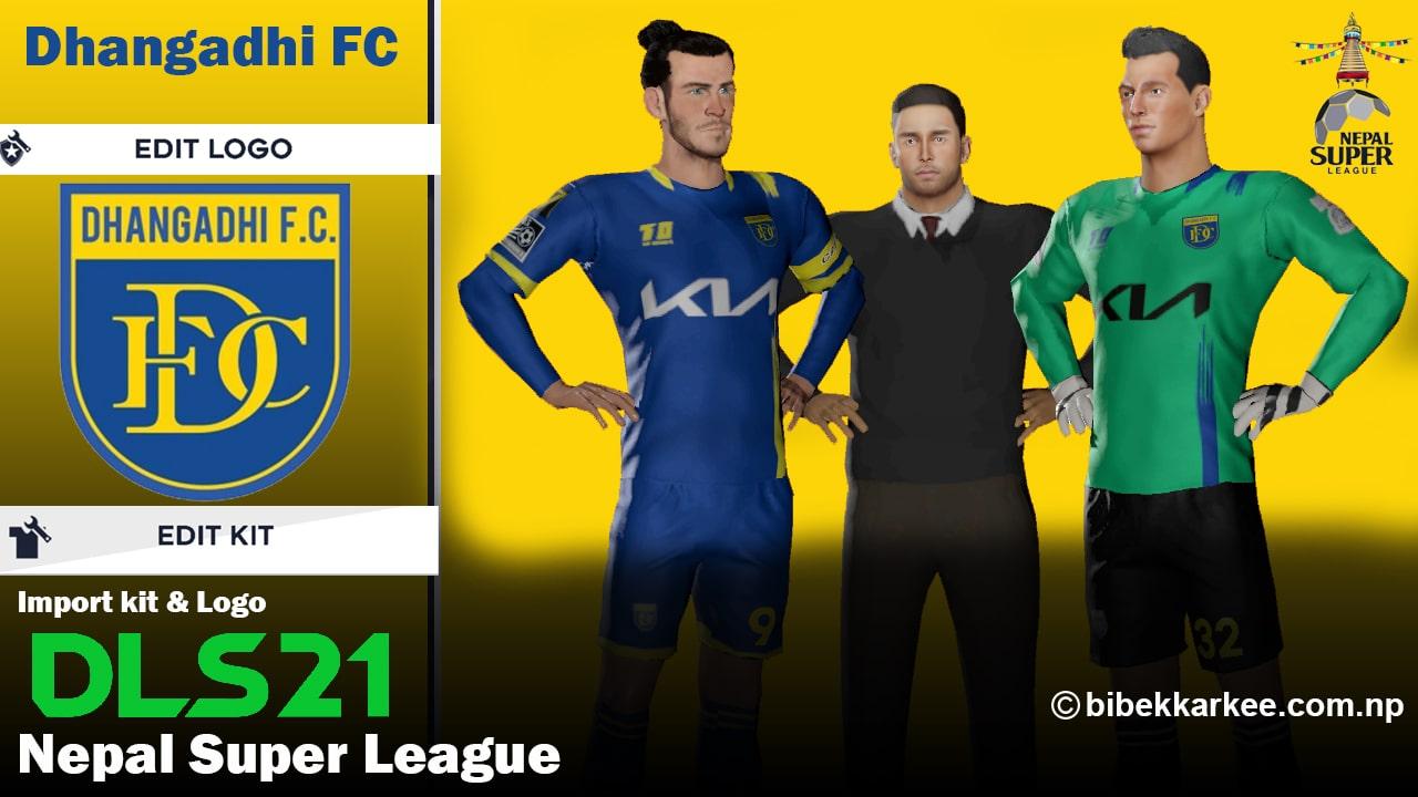 Dhangadhi FC Dream League Kit