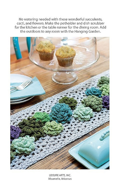 Crochet a Floral Garden Table Runner Crochet Pattern