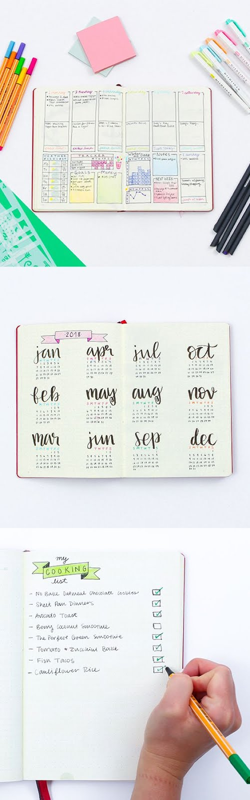 bullet journaling 101 from marleylilly.com