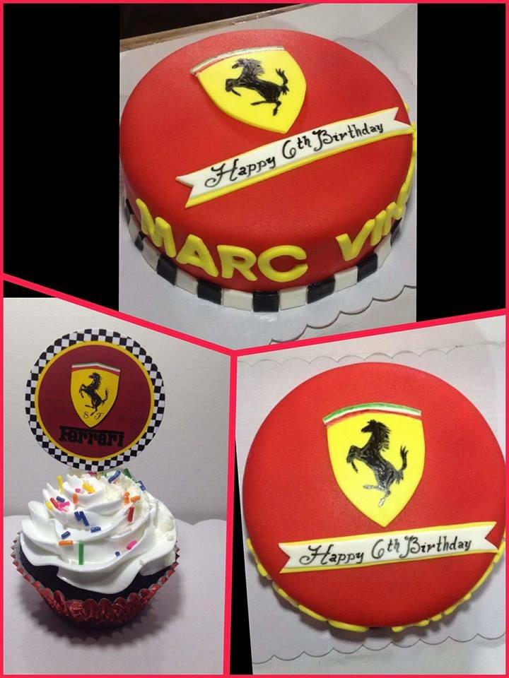 Ferrari Cake And Cupcakes Jnyj J Nee J Cakes