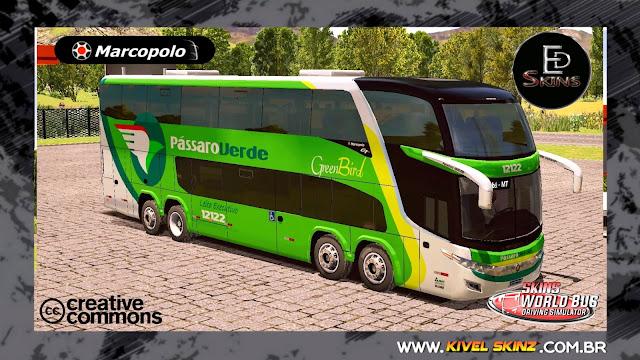 PARADISO G7 1800 DD 8X2 - VIAÇÃO PÁSSARO VERDE