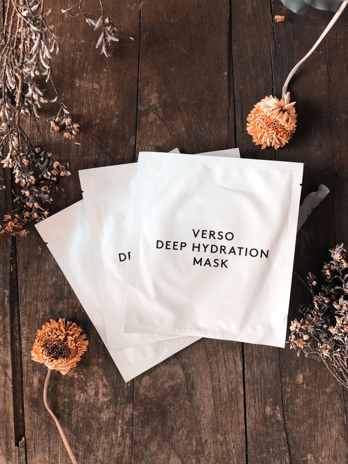 verso hydrating masks